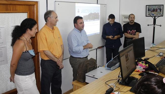 Salobreña alberga unas jornadas de dinamizadores locales de los centros Guadalinfo de la provincia