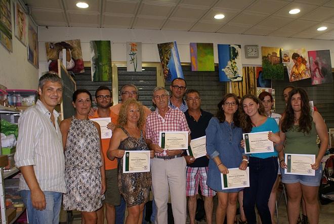 El Ayuntamiento y la Academia D´Arte de Motril entregan los diplomas del Curso de Fotografía