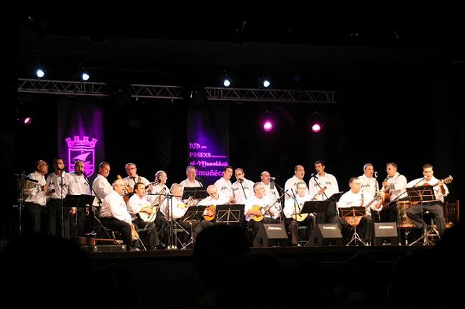 Magnífico concierto del grupo Melaza en el parque El Majuelo de Almuñécar