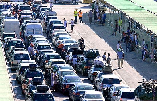 La línea marítima Motril Melilla aumenta el número de pasajero con la OPE