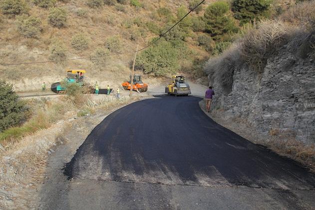 Los caminos rurales Río Jate y El Cerval asfaltados