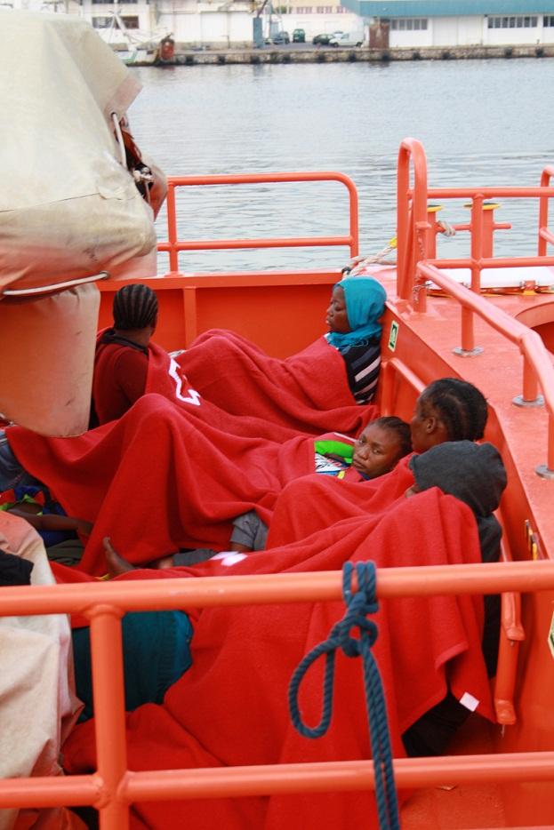 Cuatro de los siete inmigrantes sometidos a pruebas oseométricas en Motril son menores
