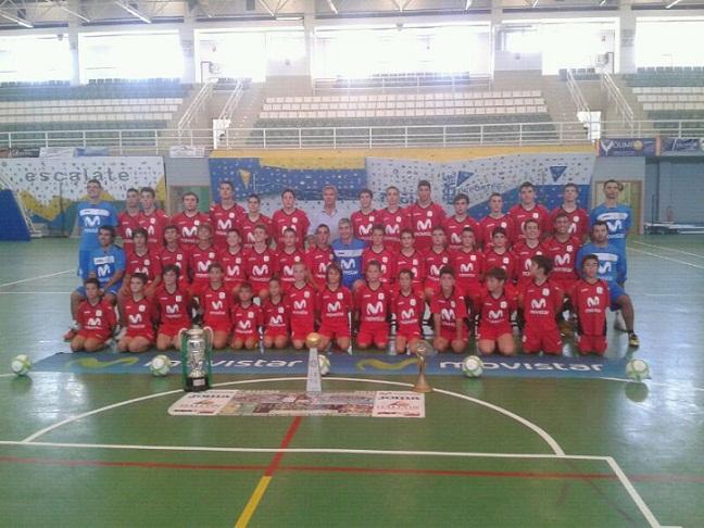 El Campus Inter Movistar de fútbol sala contará con un clinic impartido por jugadores titulares del equipo
