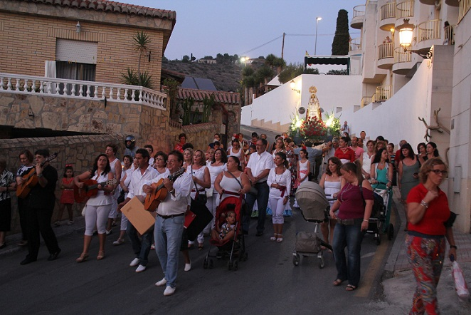 Los vecinos herradureños de Las Maravillas celebraron la fiesta de su barrio por noveno año consecutivo