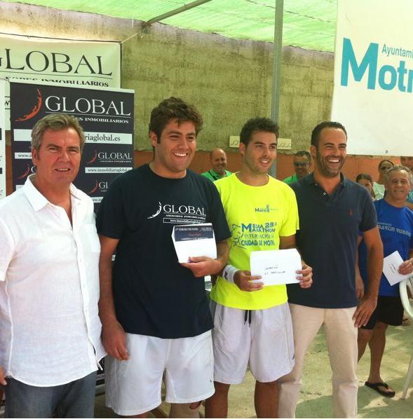 Gran espectáculo de juego en el I Torneo de Pádel 'Global Asesores Inmobiliarios'