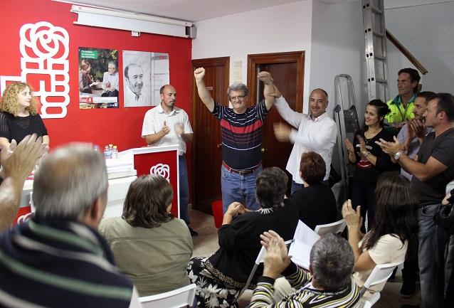 La candidatura de Francisco Prados y Rocío Palacios obtiene el respaldo mayoritario del PSOE de Almuñécar y La Herradura