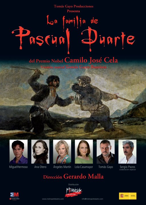 Un elenco de lujo pondrá en escena este sábado en Motril 'La familia de Pascual Duarte'