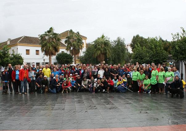 La lluvia no impide el éxito de la IV Marcha Popular de la Alpujarra