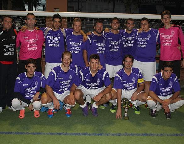 El equipo de la Cofradía del Santo Entierro ganó el III Mundialito  Cofrade de Almuñécar