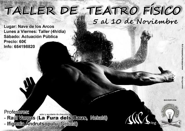 Ifigenia Andrutsopulu impartirá un taller de teatro en la nave de Los Arcos de Motril