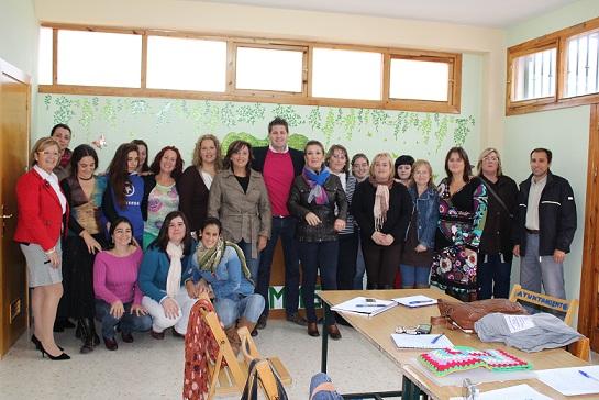 Afammer clausura con éxito el curso de formación de auxiliar de geriatría desarrollado en Lanjarón