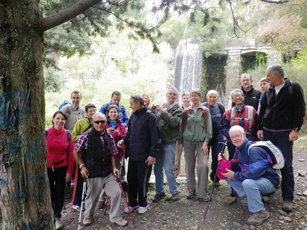 El grupo senderista de Almuñécar recorrió la zona alpujarreña granadina