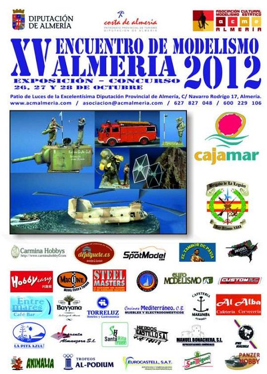 Tres motrileños fueron premiados en el XV  Encuentro de Modelismo de Almería 2012