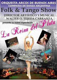 La Reina del Plata en el Teatro Calderón de Motril el 10 de noviembre