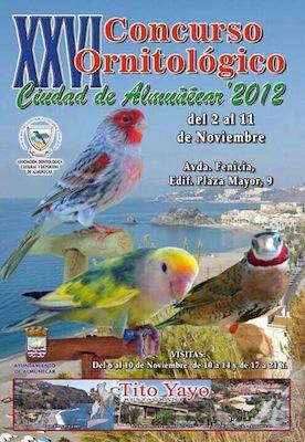 """Más de 1600 ejemplares participan en el XXVI Concurso Ornitológico """"Ciudad de Almuñécar"""""""