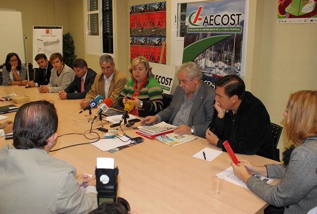 El grupo parlamentario socialista muestra su apoyo a la ITS de la Costa y al sector pesquero