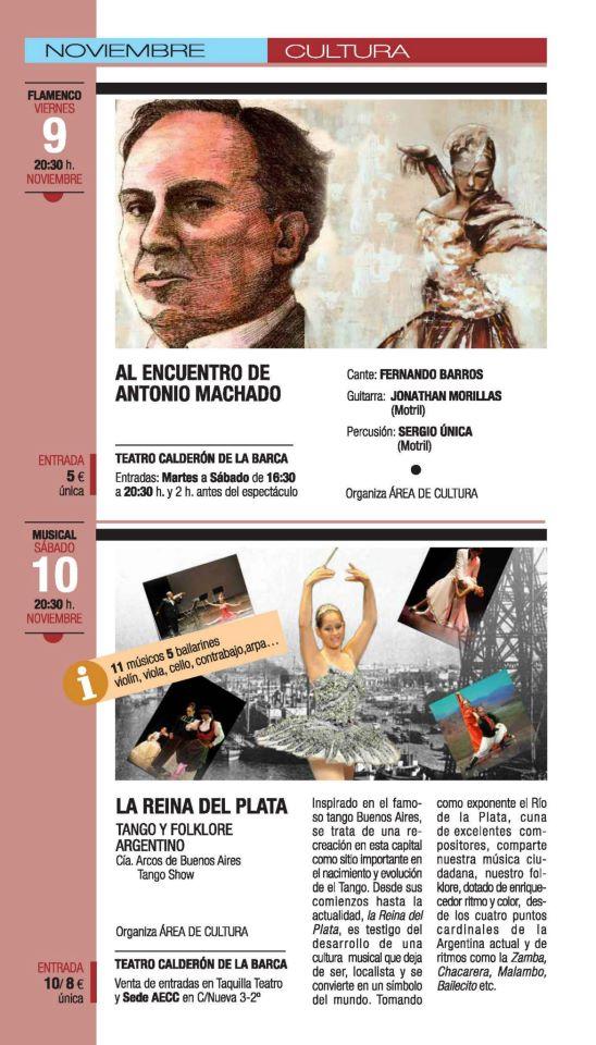 Flamenco y el folclore argentino en el Teatro Calderón de la Barca de Motril