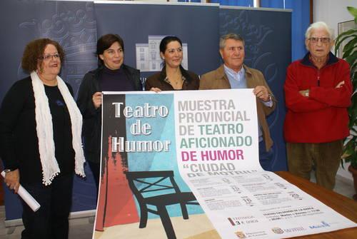 Motril acoge del 13 al 18 de noviembre la Muestra provincial de teatro aficionado de humor