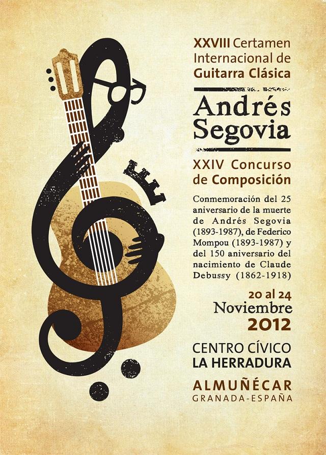 """Un total de  16 guitarristas participan en el XXVIII Certamen Internacional de Guitarra Clásica """"Andrés Segovia"""""""