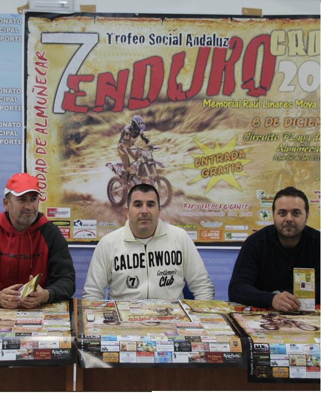 """Almuñécar prepara el  VII Enduro-Cross """"Ciudad de Almuñécar- Memorial Raúl Linares Moya"""