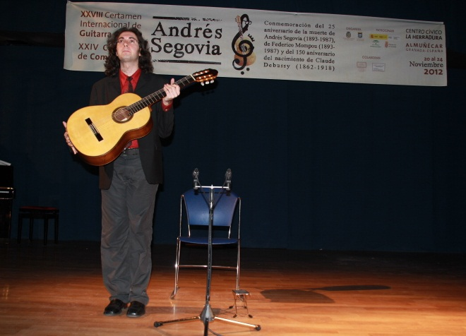 "Hoy se celebra la segunda sesión de la Primera Eliminatoria del XXVIII Certamen Internacional de Guitarra Clásica ""Andrés Segovia"""
