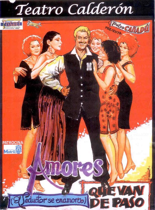 """Cañadú escenifica """"Amores de van de Paso"""" en el Teatro Calderón de la Barca de Motril"""