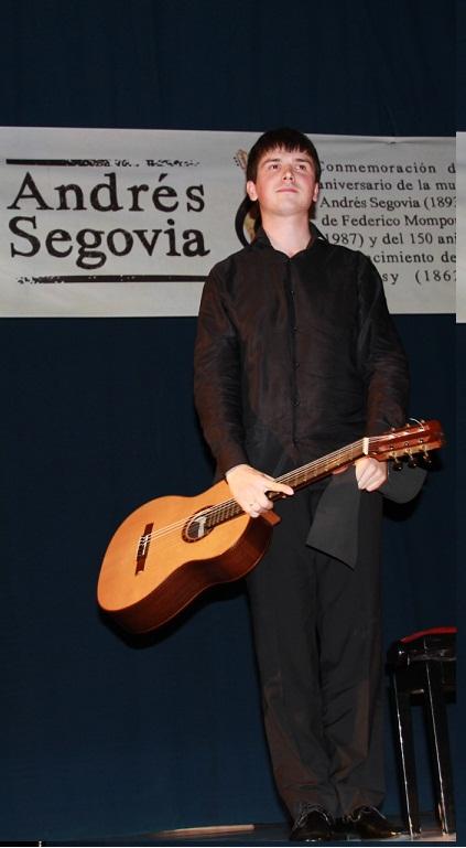 """Nueve guitarristas acceden a la semifinal del XXVIII Certamen Internacional de Guitarra Clásica """"Andrés Segovia"""""""