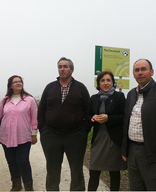 El Plan Encamina2 de la Junta concluye la mejora del camino Era de Fernández en Albondón
