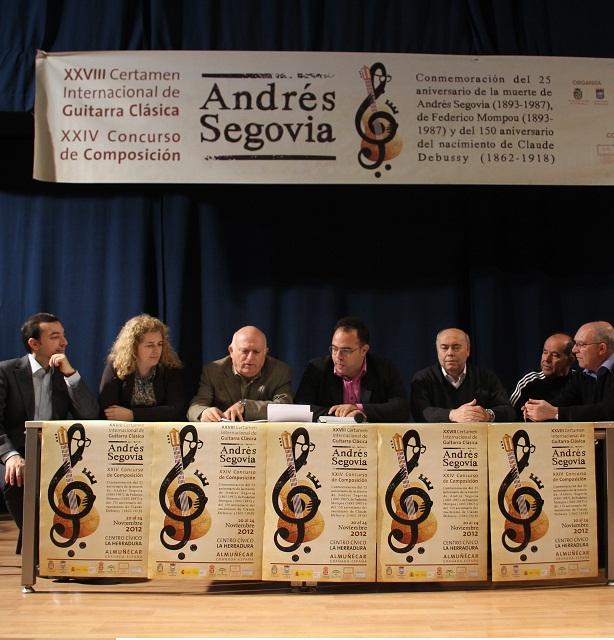 """El argentino Fernando M. Fiszbein gana el  XXIV Concurso de Composición """"Andrés Segovia"""""""