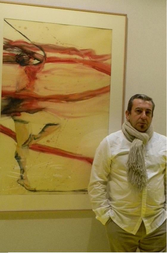 El motrileño Mikel Heredia expone en el Gran Palacio de los Campos Elíseos de Paris