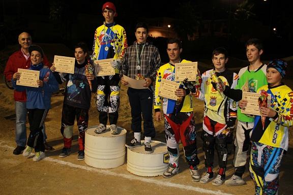 Una treintena de corredores participaron en la segunda prueba del campeonato provincial de BMX donde manda  el club almuñequero