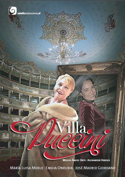 Villa Puccini con María Luisa Merlo este viernes en el Teatro Calderón de la Barca de Motril
