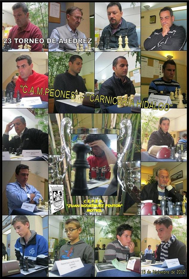 El Club Ajedrez de Motril organiza XXIII Torneo Cerrado de Campeones
