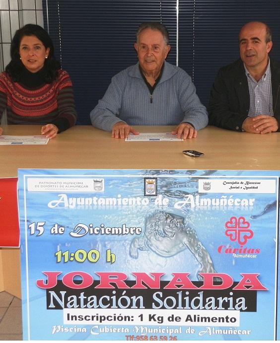 El Ayuntamiento de Almuñécar organiza la I Jornada de Natación Solidaria