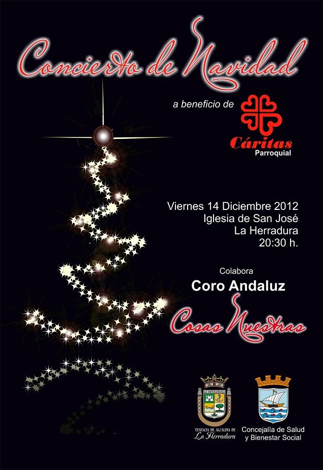 La Herradura organiza   un concierto a beneficio de  Cáritas Local