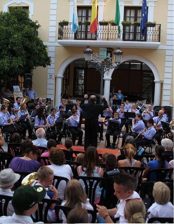 La Banda de Música de Almuñécar dará un concierto este domingo en la plaza del Ayuntamiento sexitano