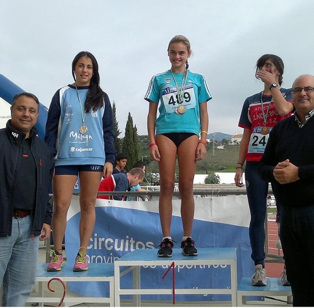 Tres sexitanas de la Escuela Municipal de Atletismo se clasifican para el Campeonato Andaluz