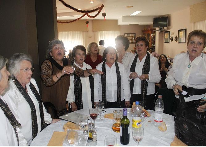 Los mayores de la Costa y La Alpujarra organizan un encuentro navideño