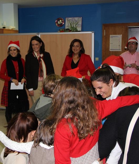 Los niños del Centro de Atención Infantil temprana celebran su fiesta de  Navidad
