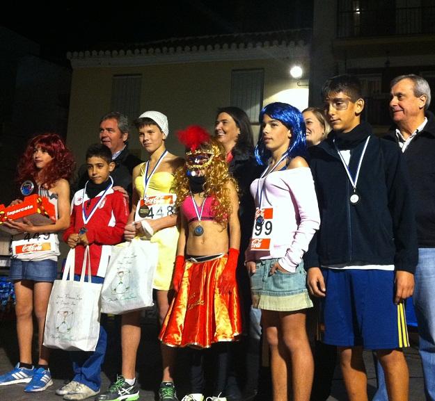 Más de mil personas participaron en la exitosa Carrera de San Silvestre de Motril
