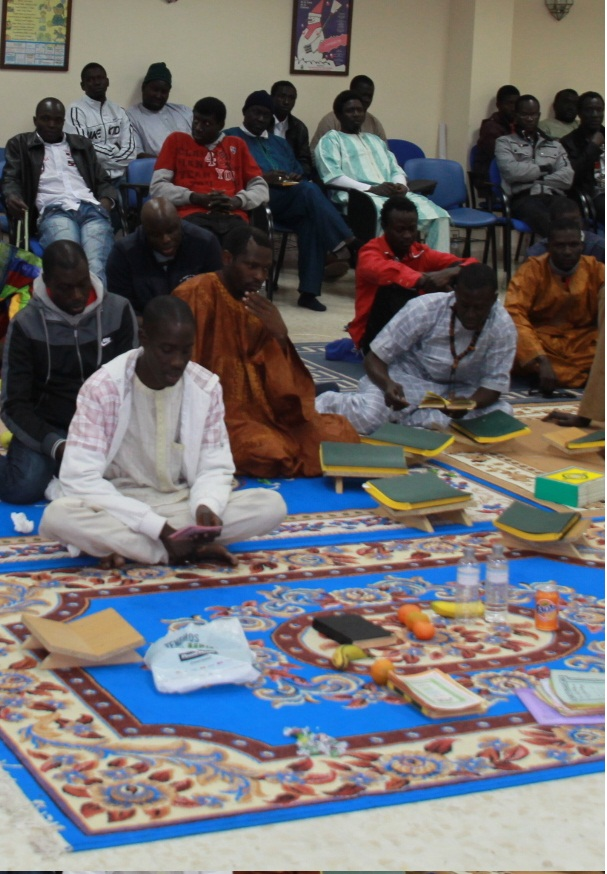 La población inmigrante senegalesa celebro por primera vez en Almuñécar la fiesta sagrada del gran Magal