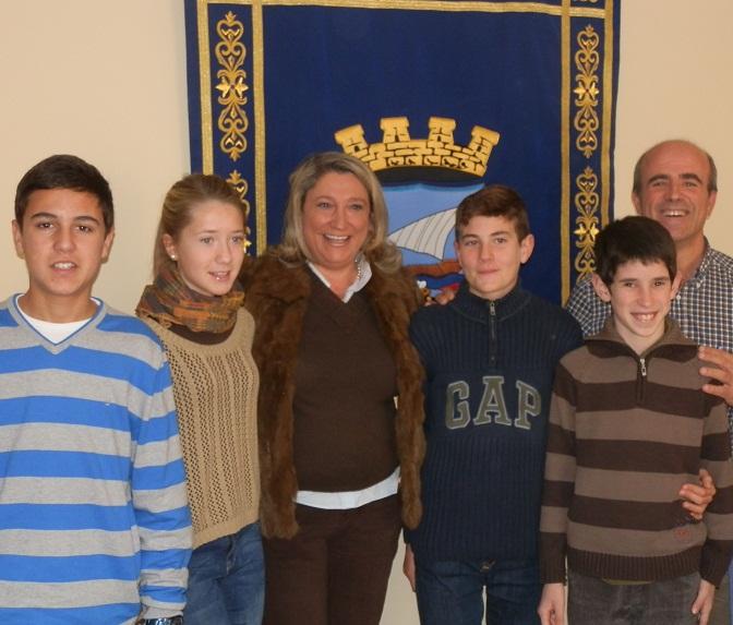 El Ayuntamiento de Almuñécar beca a cinco jóvenes sexitanos de mayor proyección deportiva