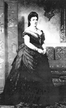 La motrileña María del Carmen Hernández y Espinosa de los Monteros,  duquesa de Santoña creadora del sorteo de la lotería de El Niño