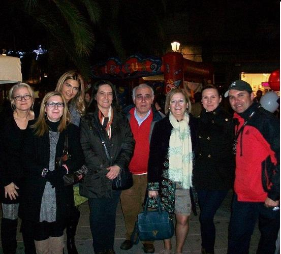 Motrileños y visitantes se vuelcan con la 'Noche Loca del Comercio'