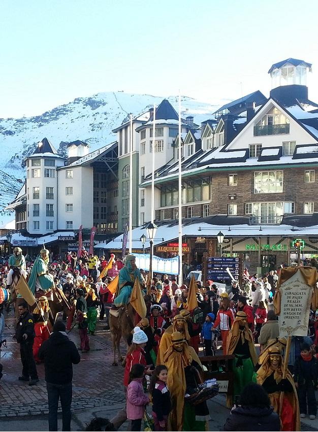 Sierra Nevada cierra la Navidad con más de 123.000 esquiadores y de un 70% de ocupación