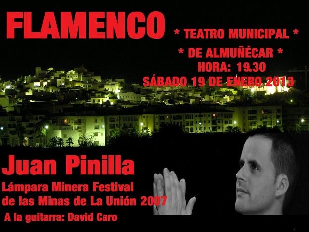 Concierto y presentación del libro de Juan Pinilla en Almuñécar