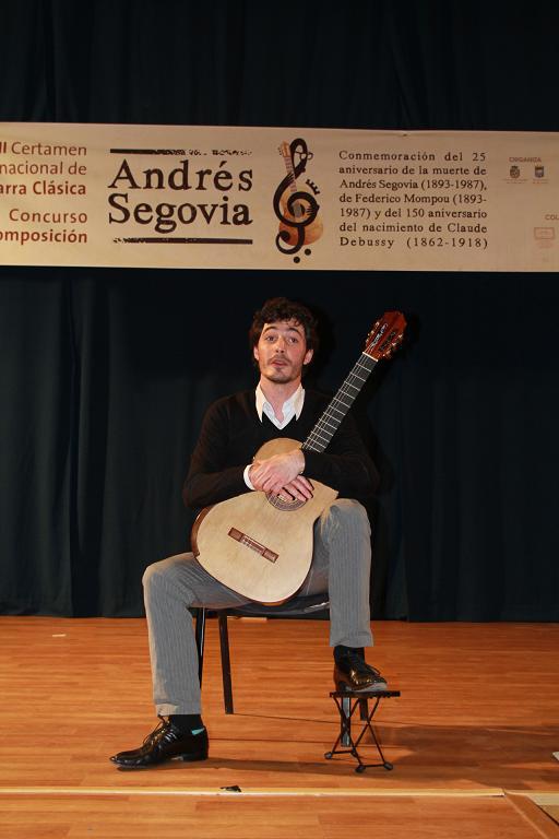 """Convocado el concurso para el cartel del XXIX Certamen Internacional de Guitarra Clásica """"Andrés Segovia"""" de La Herradura"""