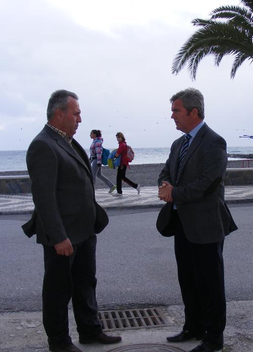 La Mancomunidad de la Costa Tropical invierte 389.000 euros en renovar las redes del paseo marítimo de La Mamola