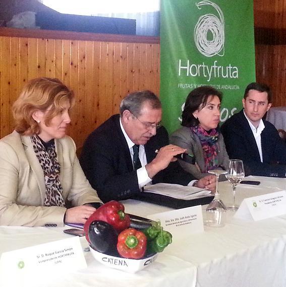 La Junta destaca la labor de Hortyfruta en la defensa de los intereses del sector de frutas y hortalizas de Andalucía