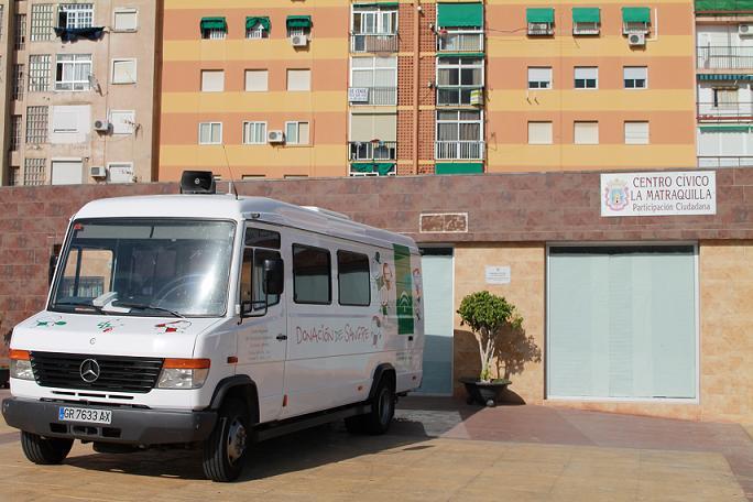 El centro Cívico La Matraquilla acoge mañana una colecta de sangre